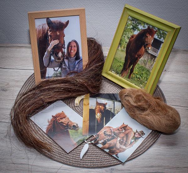 Erinnerungen wie Fotos und Haare sind der kostbarste Schatz