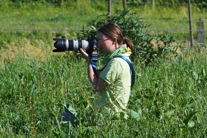 Jessica Freymark Pferdefotografin bei der Arbeit