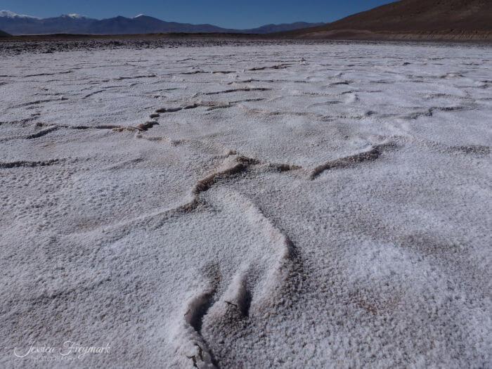 Salzsee auf dem Puna Plateau