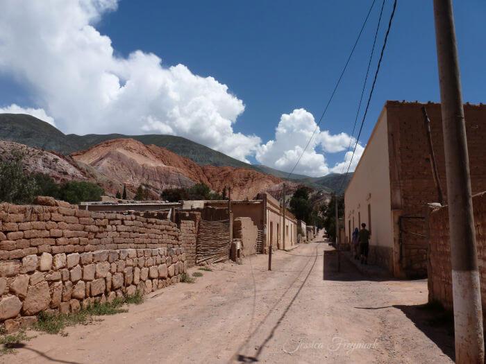Purmamarca und der Berg der 7 Farben