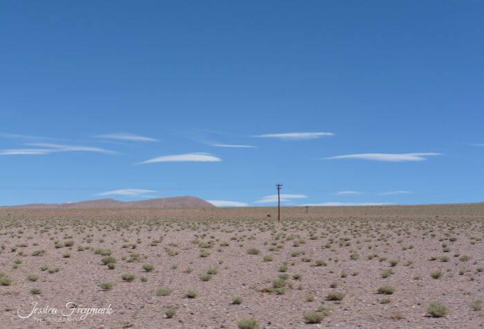 Kleine dünne Wolken