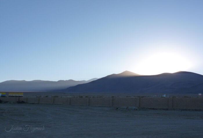 Sonnenaufgang Puna Plateau