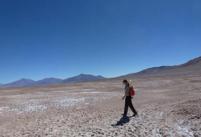 Arbeiten auf dem Puna Plateau