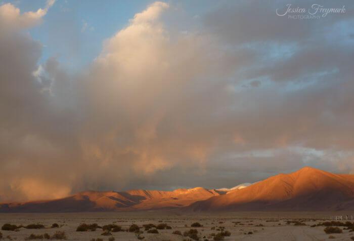 Sonnenuntergang Puna Plateau