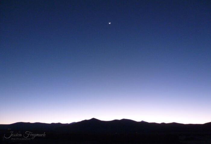 Blaue Stunde auf dem Puna Plateau