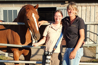 Katja Schnabel und Jessica Freymark