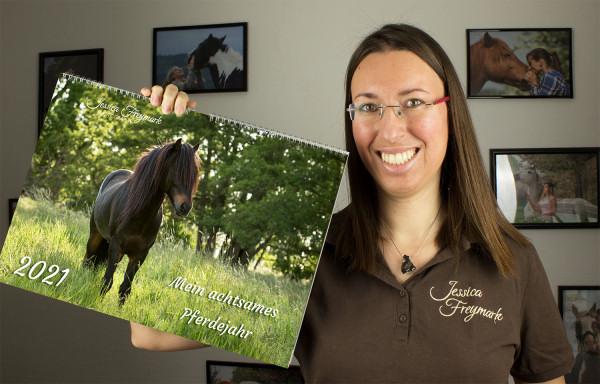 Kalender Mein Achtsames Pferdejahr 2021