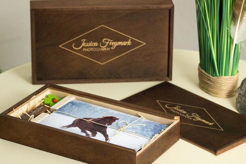 Fotopaket Holzbox